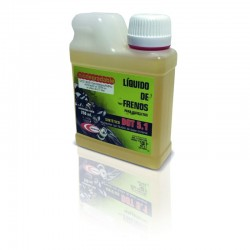 LIQUIDO DE FRENOS BIODEGRADABLE DOT 5.1 - 250 ml