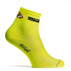 CALCETINES SIDI LIGHT AMARILLO FLUO TALLA 35-39
