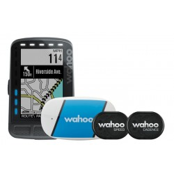 GPS WAHOO ELEMNT ROAM BUNDLE CON TICKR, RPM, CAD & VEL